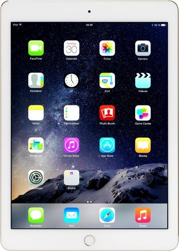 iPad Air 2 med Wi-Fi og 16GB - Gold