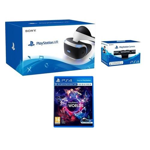PS4 VR HEADSET INCL CAMERA