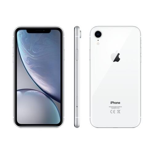 iPhone XR - 128 GB, hvit