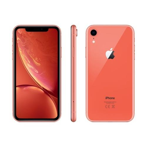 iPhone XR - 128 GB, coral