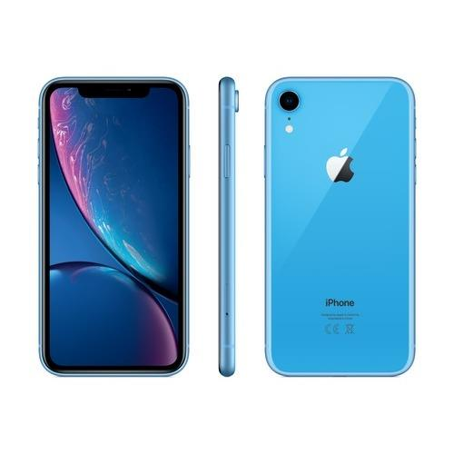 iPhone XR - 128 GB, blå